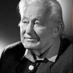 Portrait de Georges Charpak en noir et blanc, Licence Creative Commons