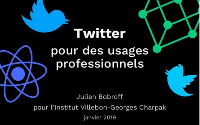 Twitter par Julien Bobroff