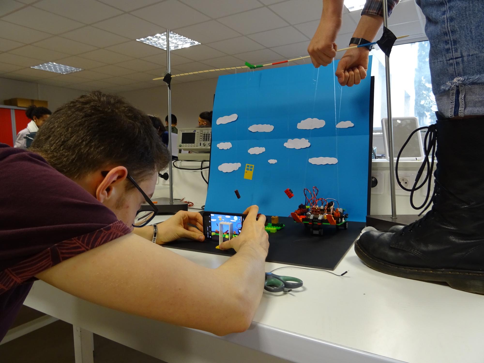 Projet Arduino d'un groupe d'étudiants