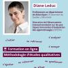 Une demi-journée de formation en ligne avec Diane Leduc sur la méthodologie d'études qualitatives