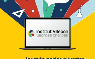 Samedi 6 février 2021 : journée portes ouvertes virtuelle pour les élèves et les enseignants !
